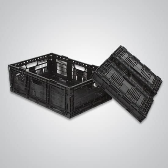 returnable plastic crate 64x19