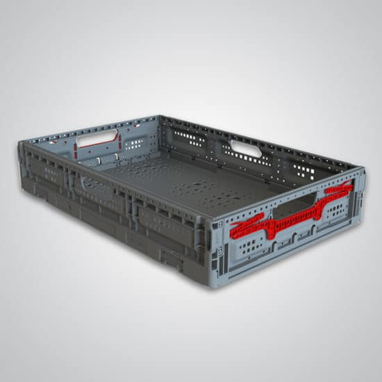 returnable plastic crate 64x11