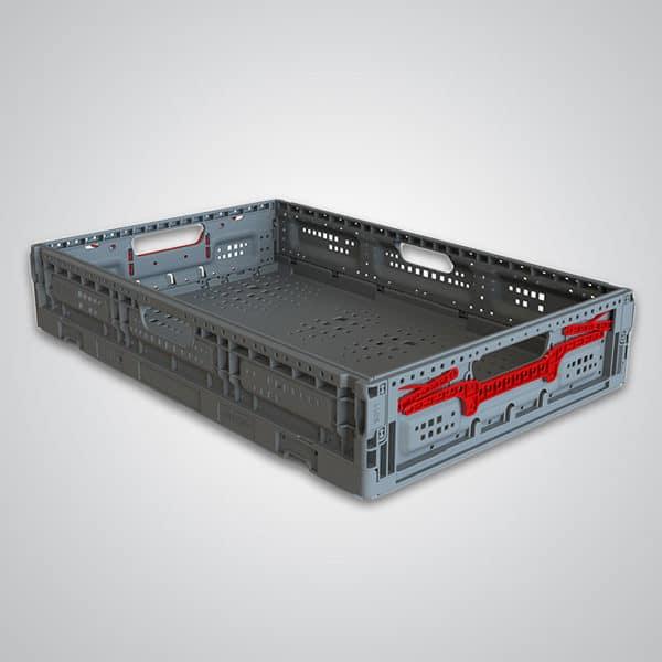 returnable plastic crate 64x11