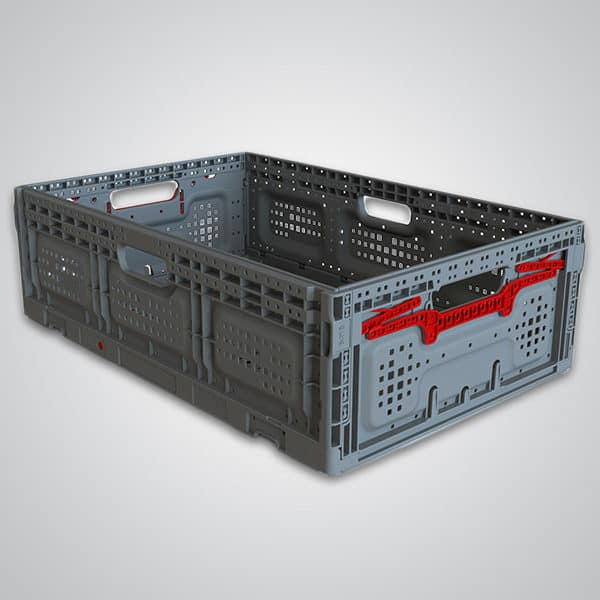 returnable plastic crate 64x18