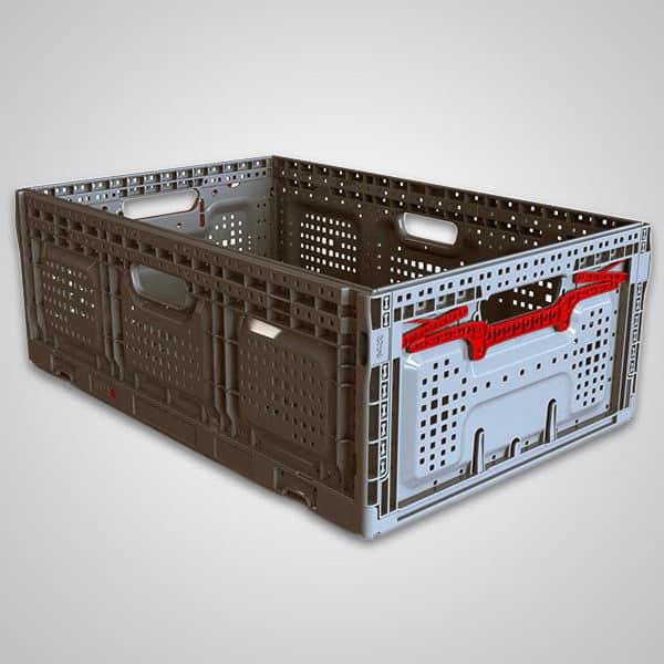 returnable plastic crate 64x22