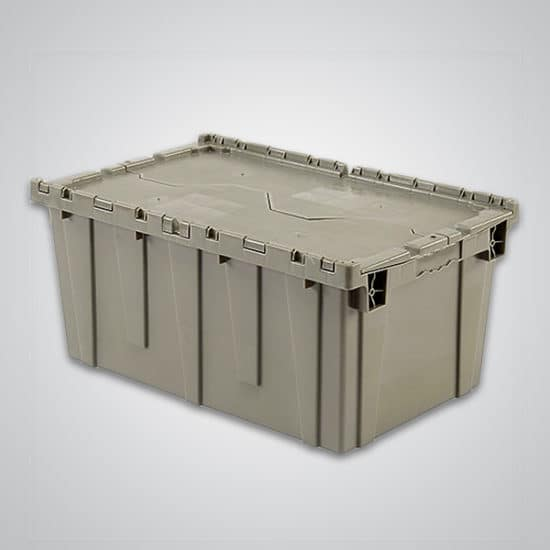 Attached Lid Container 27x17x12.5