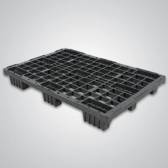 48x32 euro light-duty plastic pallet