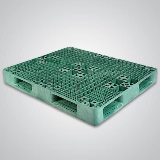 48x40 reversible plastic pallet