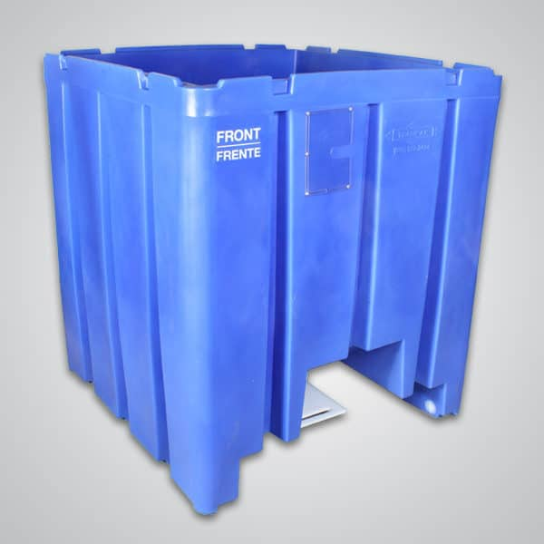 cyclone plastic hopper bin